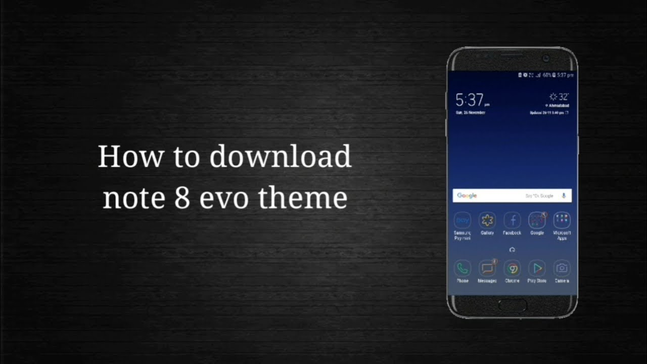 new arrival 1c7dc 7176c How To Download Note 8 Evo Theme!!! || By Technical World
