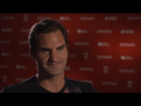 Rogers Cup sit down with Roger Federer
