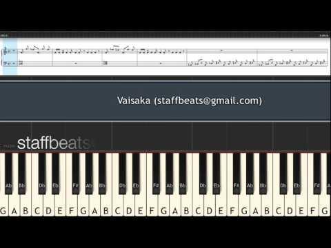 Vaisaka Sandhye - Piano Notes