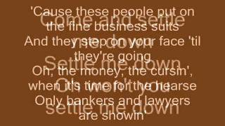Zac Brown Band - Settle Me Down (lyrics)