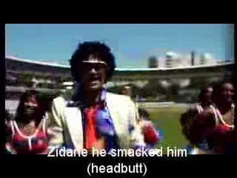 Zidane song subbed in english