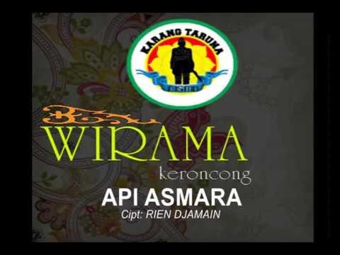 Api Asmara - Rien Djamain  (Cover) Insrument by Keroncong Wirama Katar Bismo.
