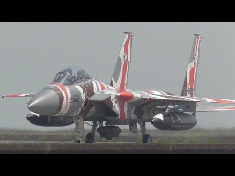 航空自衛隊 アグレッサー部隊 in 築城基地 教導訓練初日 イーグル F-15DJ ‼︎