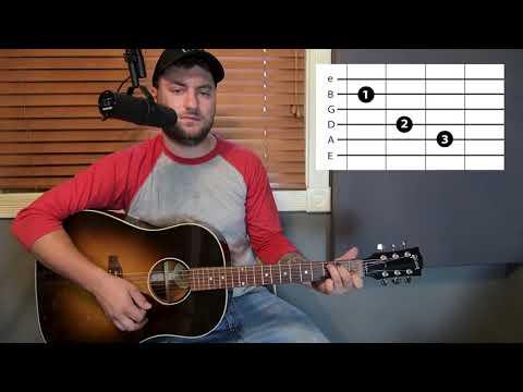Look at Miss Ohio - Gillian Welch & Band of Heathens - Guitar Lesson - Beginner / Intermediate