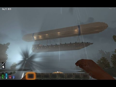7 Days to Die Flying Airship!!