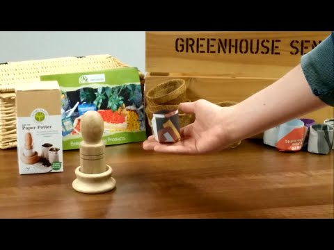 Make your Own Paper Plant Pots in 60 Seconds!
