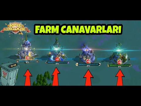 Kolay Kaynak Kasma Taktikleri / Farm Komutanları / YETENEK AĞAÇLARI - Rise of kingdoms