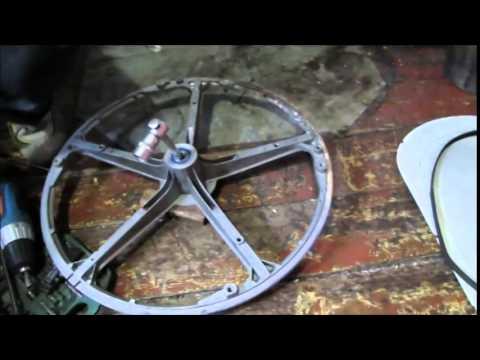 Cмотреть видео онлайн Ремонт стиральной машины INDEZIT