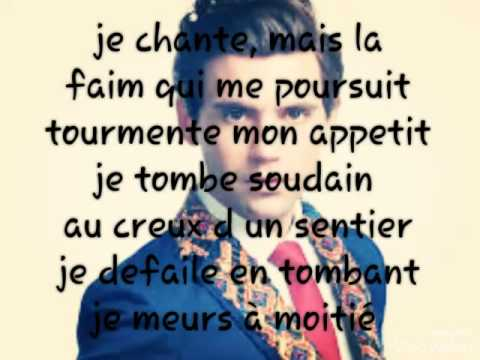 Mika : je chante \ (lyrics-parole)