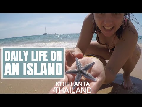 A DAY IN THE LIFE: Koh Lanta Island, Thailand -- Solo Travel  //  166
