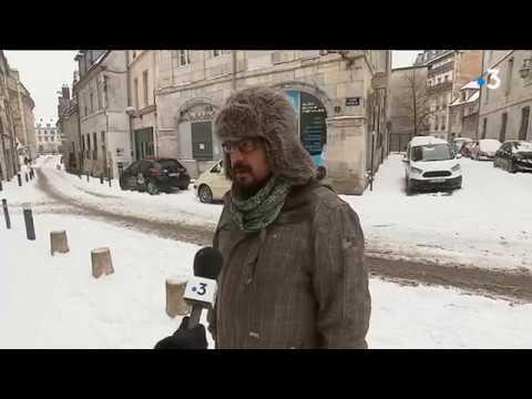 Quand la neige vient perturber la circulation à Besançon