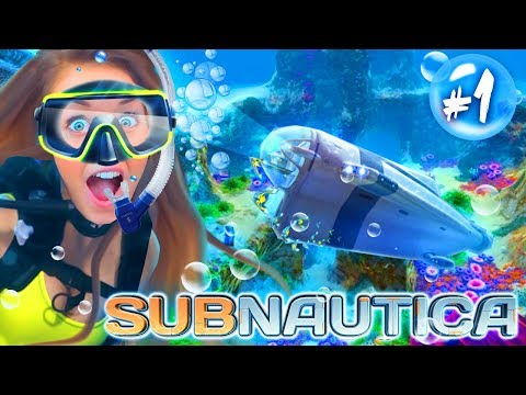 *NEW* SWIMMING WITH ALIENS!?! 🧜‍♀️ (Subnautica #1!🧜‍♀️)
