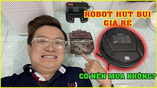 Trải nghiệm Robot Hút Bụi 360 11 Max trên LAZADA. Giá rẻ dùng ổn không?