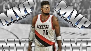 NBA 2K14 PS4 MyCAREER ~ Crunch Time vs Denver ~ ROOKIE Gets MVP Chants!!