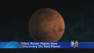 .Mars Rover Makes New Discovery