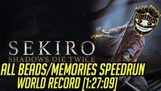 Sekiro All Beads/Memories Speedrun World Record [1:27:09]