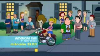 Promo final 2ª temporada Cleveland Show, 7ª temporada American Dad, 7ª temporada Futurama [neox]