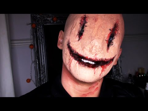 CREEPY SMILEY FACE MASK / HALLOWEEN - YouTube