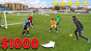 Nutmeg Me, I'll Buy You Anything - Football Challenge (Soccer)