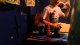 Sport Stacking: Color Dodge (My Style) 8.22