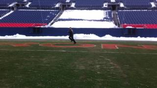 JM Running The Broncos End Zone - Sports Authority Field - Denver CO