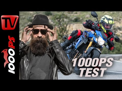 1000PS Test: Suzuki GSX-S750 2017