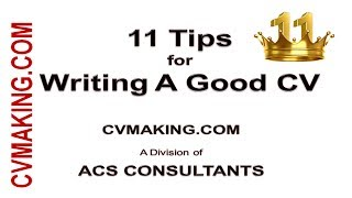 11 Tips for Effective CV Writing for Job Success