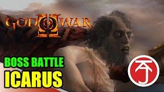God Of War II - BOSS BATTLE: KRATOS VS ICARUS