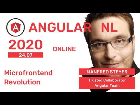 Manfred Steyer - The Microfrontend Revolution: Using Webpack 5 Module Federation With Angular