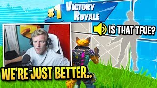 Tfue's Trio PROVED They Are 100% BETTER in Tournament Finals!