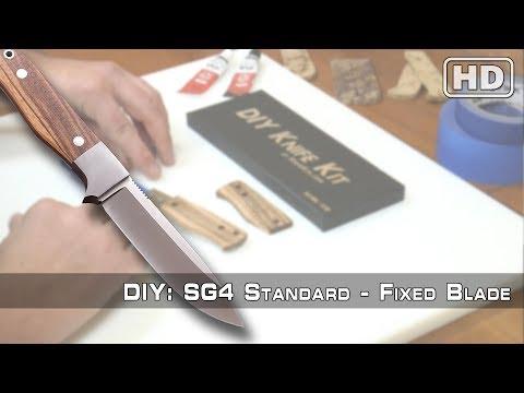How To Build: The SG4 Knife Kit By KnifeKits.com