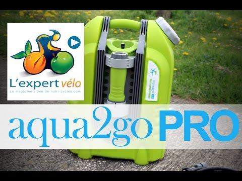 Image de la vidéo Test du nettoyeur haute pression portable Aqua2go Pro : Laver votre vélo en déplacement !