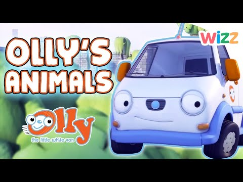 Olly the Little White Van - Olly's Animals | Wizz | Cartoons for Kids