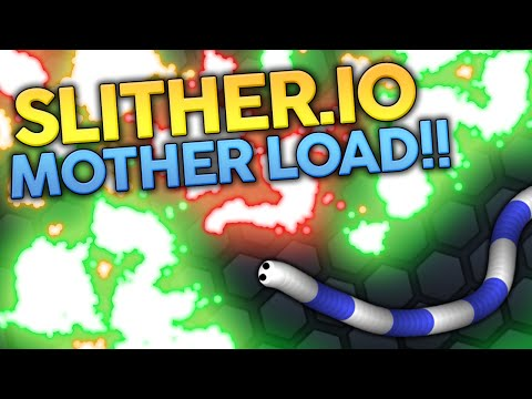 HIT THE MOTHER LOAD!! | Slither.io