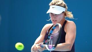 2017 Apia International Sydney Quarterfinal | Genie Bouchard vs Pavlyuchenkova | WTA Highlights