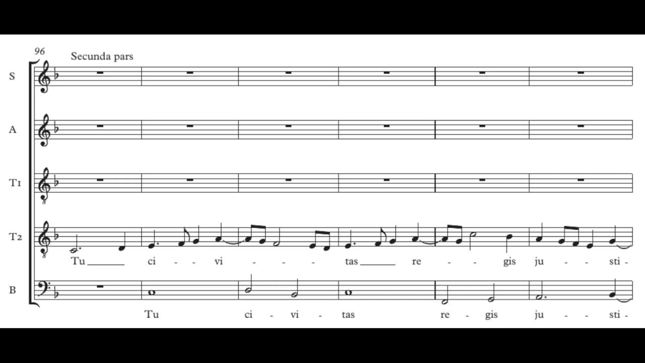Sequentia Beatae Mariae in Sabbato - Score