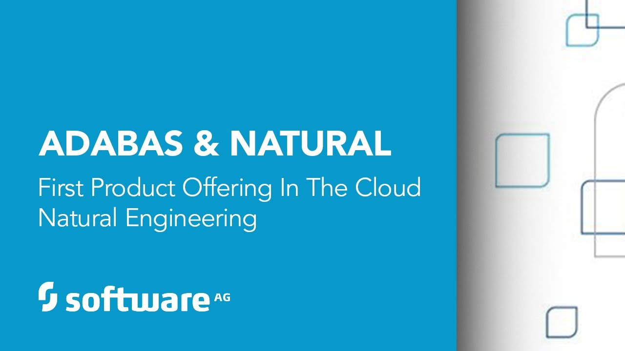 Software AG's Adabas & Natural First Product Offering in the Cloud Natural  Engineering