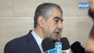 السيد اليزمي يقدم تقرير المجلس الوطني لحقوق الانسان أمام غرفتي البرلمان