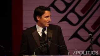 2015 press gallery dinner justin trudeau