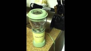 Making Baby Food: Squash Chicken Brown Rice