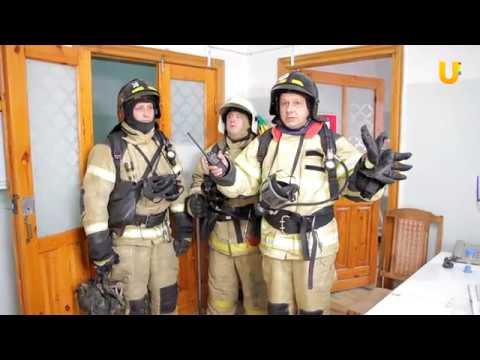 Новости. В роддоме г.Салавата прошли пожарно-тактические учения.