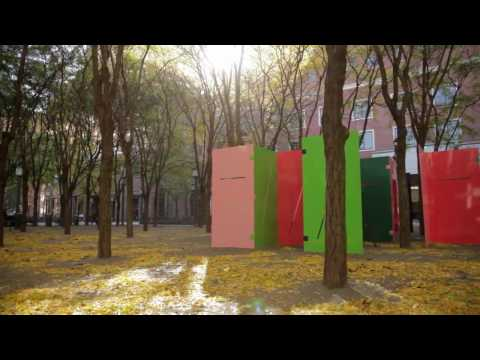 Public Art Fund - Sam Falls - Light Over Time