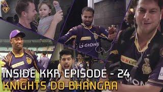 Knights Do Bhangra on Tunak Tunak Tun | Inside KKR - Episode 24 | VIVO IPL 2016