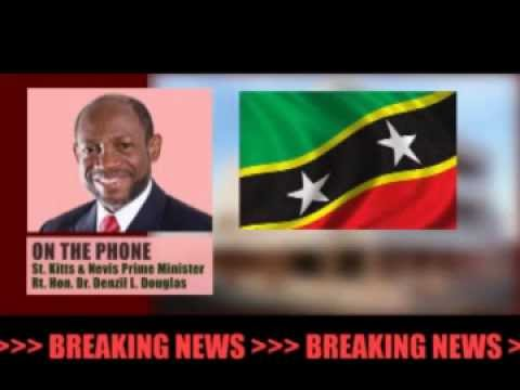 Breaking News: PM Douglas Addresses the Federation of St. Kitts and Nevis
