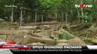 Penemuan Situs Gunung Padang Cianjur-Jabar, Lebih Tua Dari Piramida Mesir