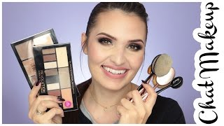 ✿ CHAT MAKEUP | Makeup Revolution, Live Love, Blend It, Estee Lauder, Revlon + Pędzle \'szczoty\' ✿