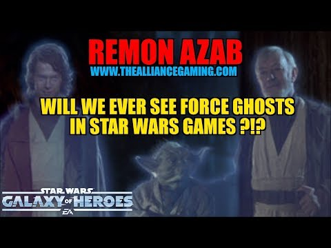 Star Wars Galaxy Of Heroes : Will We Ever See Force Ghost Characters In Star Wars Games?? - SWGOH
