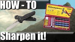 Knives: Sharpening, Edge Angles, and Lansky How-To   RevHiker