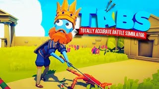 Giant King Vs All Units in Totally Accurate Battle Simulator (TABS)
