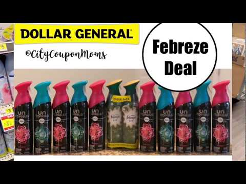 Dollar General   Glitch?? Video of how the Febreze Unstopable deal worked for me!!
